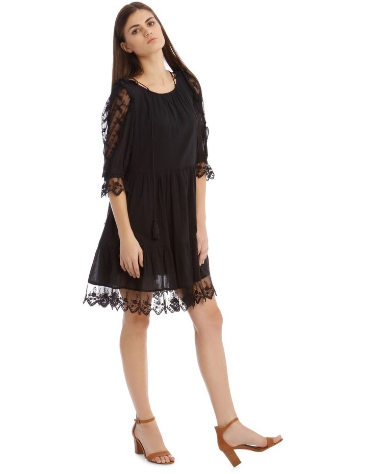 Short Sleeve Lace Dress image 2