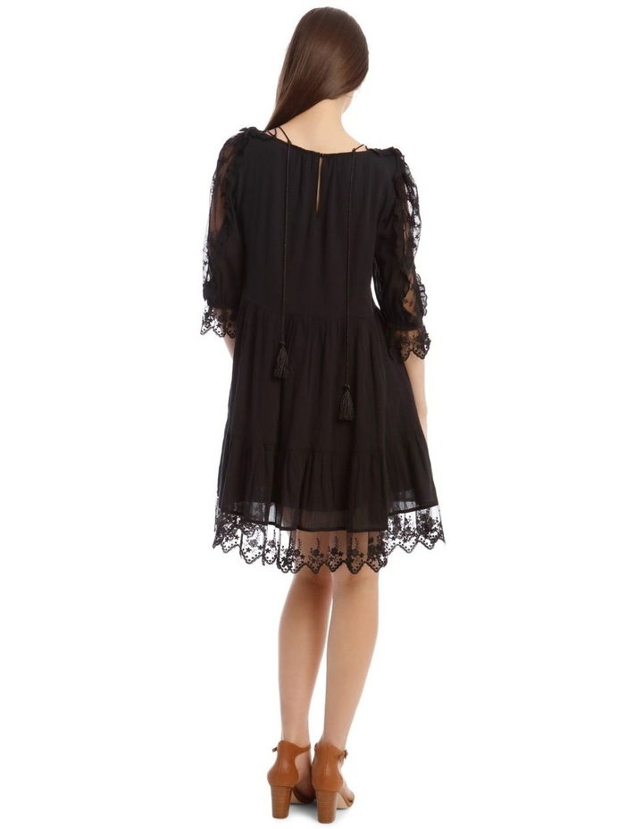 Short Sleeve Lace Dress image 3