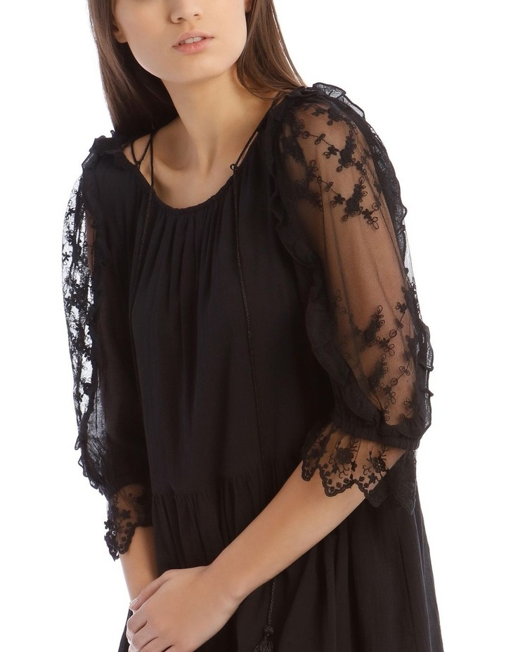 Short Sleeve Lace Dress image 4
