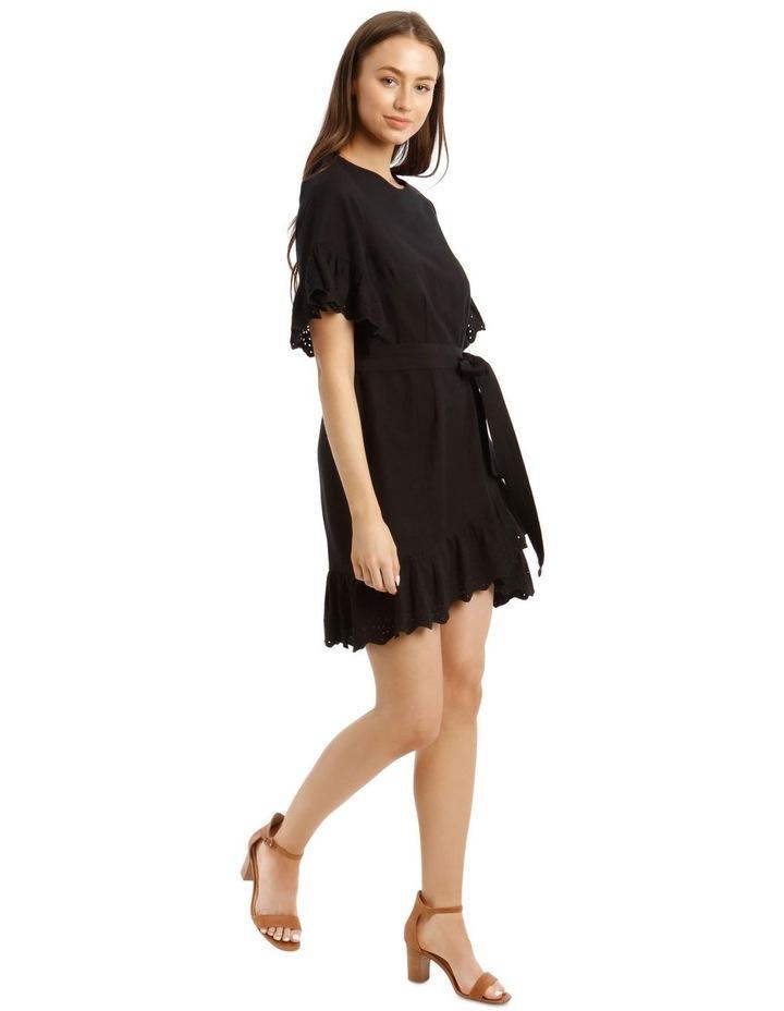 Broderie Ruffled Sleeve Dress image 2