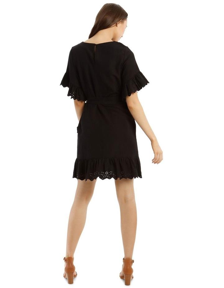 Broderie Ruffled Sleeve Dress image 3