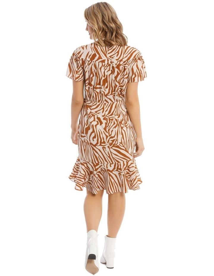 Tie-Neck Short Dress image 3