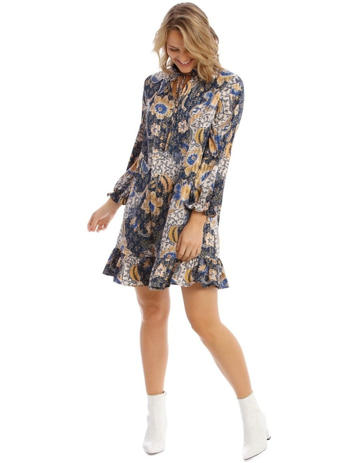 Smock Dress With Ruffle Hem image 1