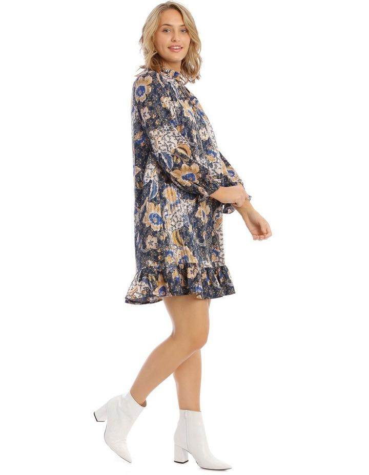 Smock Dress With Ruffle Hem image 2