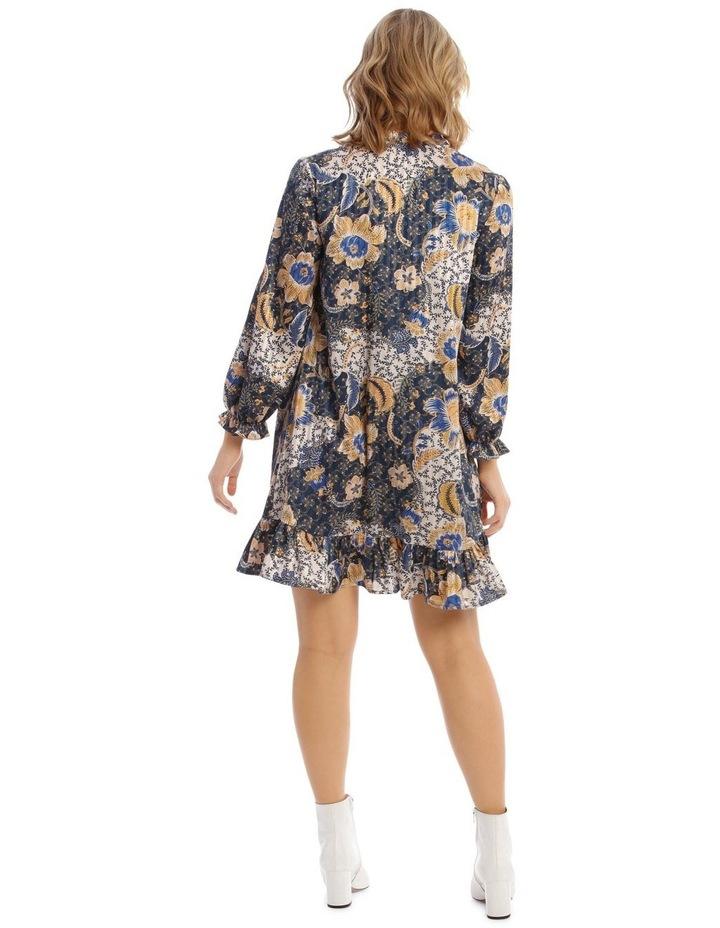 Smock Dress With Ruffle Hem image 3
