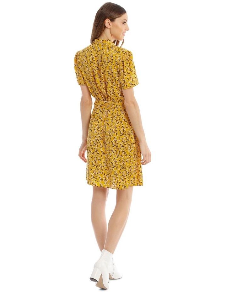 Belted Vee Neck Dress image 3