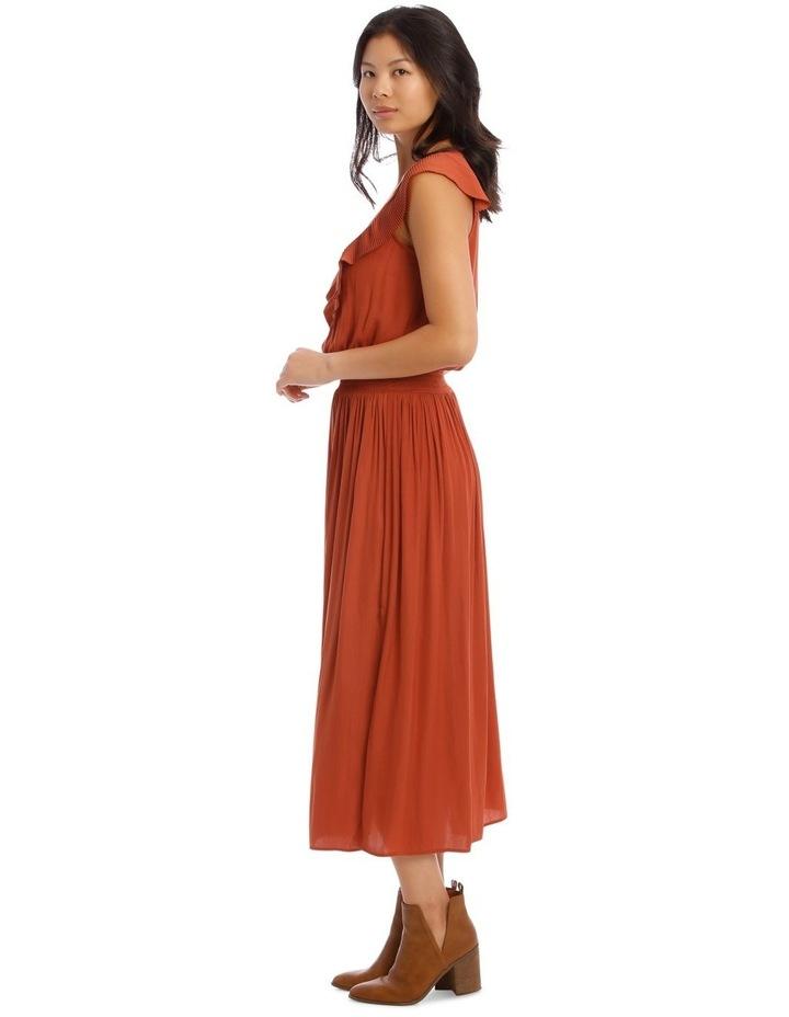 Ruffled Vee Neck Dress image 2