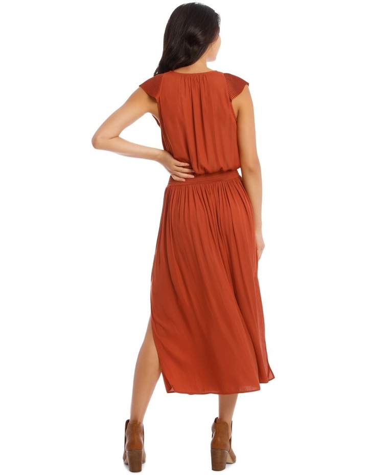 Ruffled Vee Neck Dress image 3