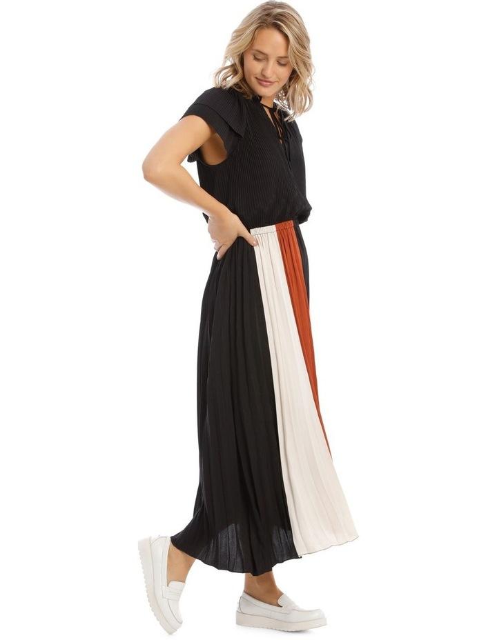 Spliced Short Sleeve Dress image 2