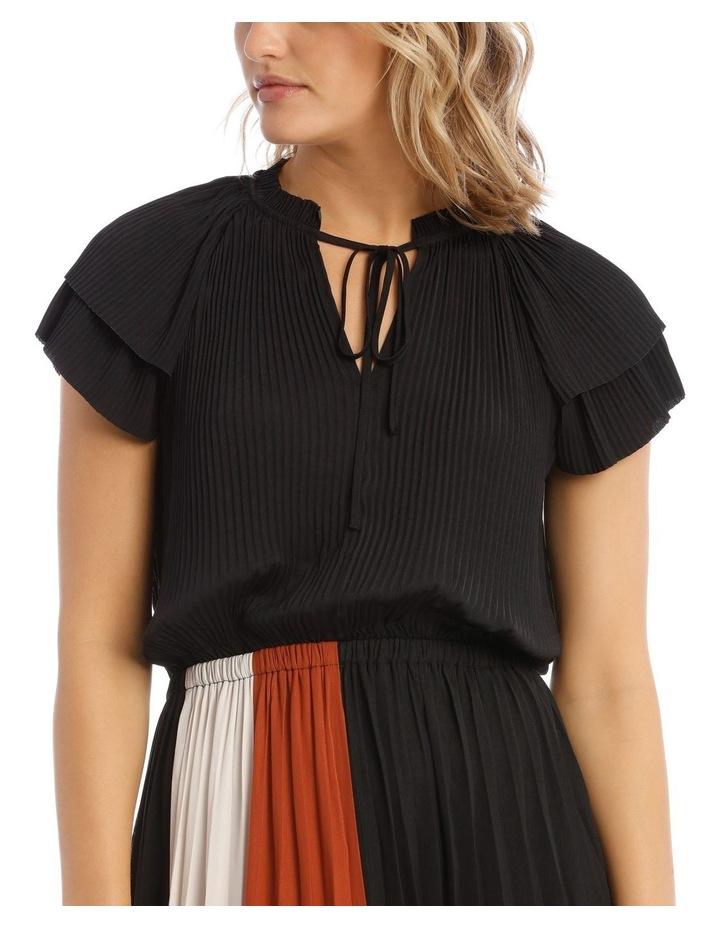 Spliced Short Sleeve Dress image 4