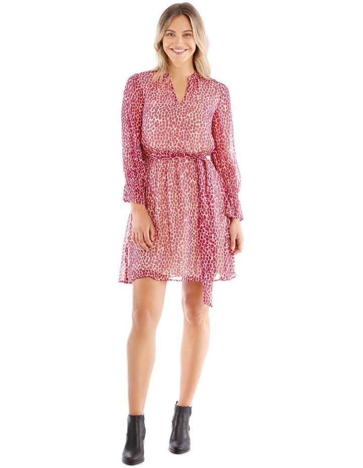 Long Sleeve Scattered Pebble Dress image 1