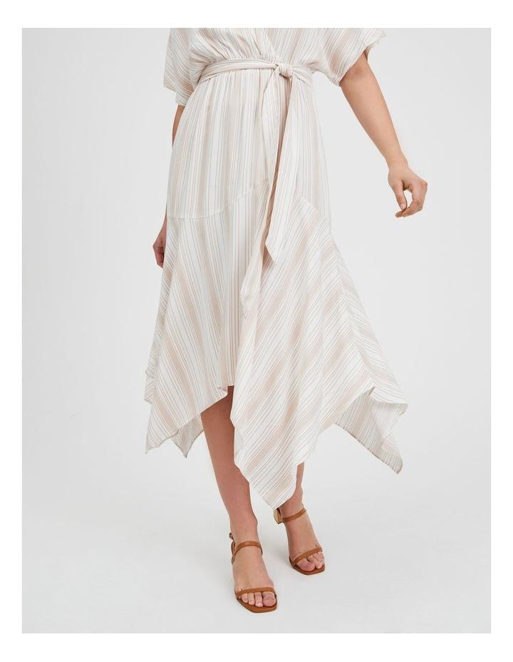 Asymmetric Midi Wrap Dress image 4