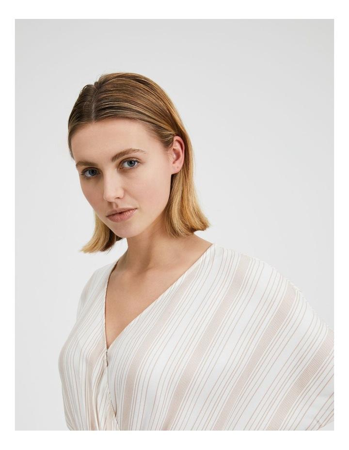 Asymmetric Midi Wrap Dress image 6