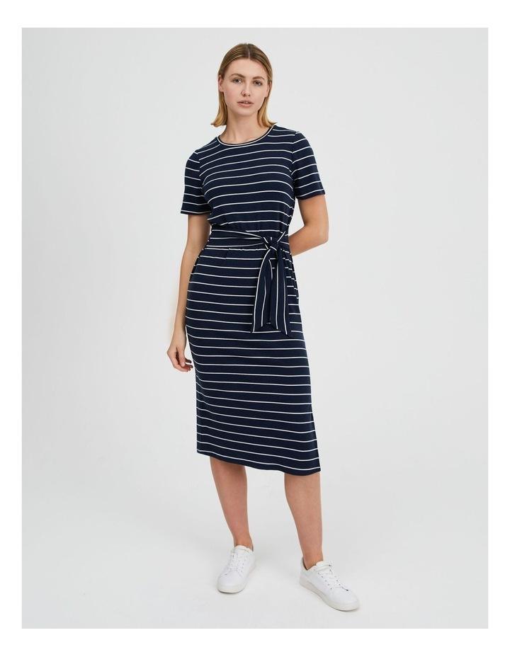 Short Sleeve Jersey Dress image 1