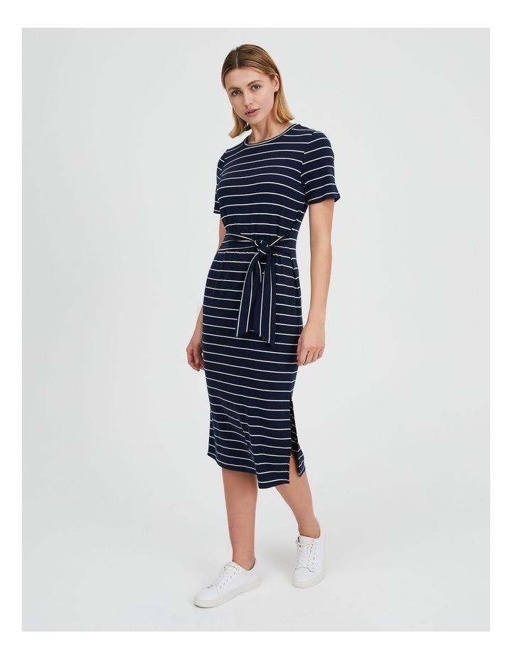 Short Sleeve Jersey Dress image 2