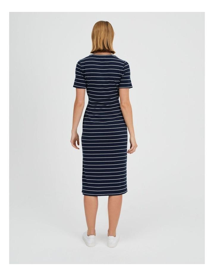 Short Sleeve Jersey Dress image 3
