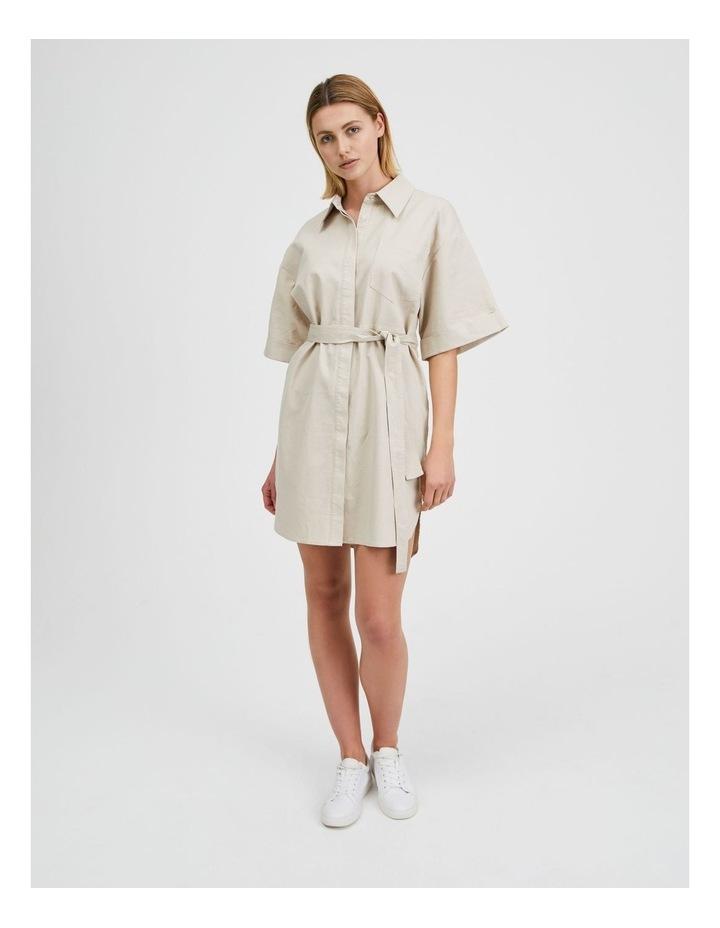 Wide Sleeve Shirt Dress image 1