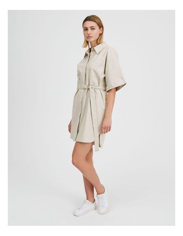 Wide Sleeve Shirt Dress image 2