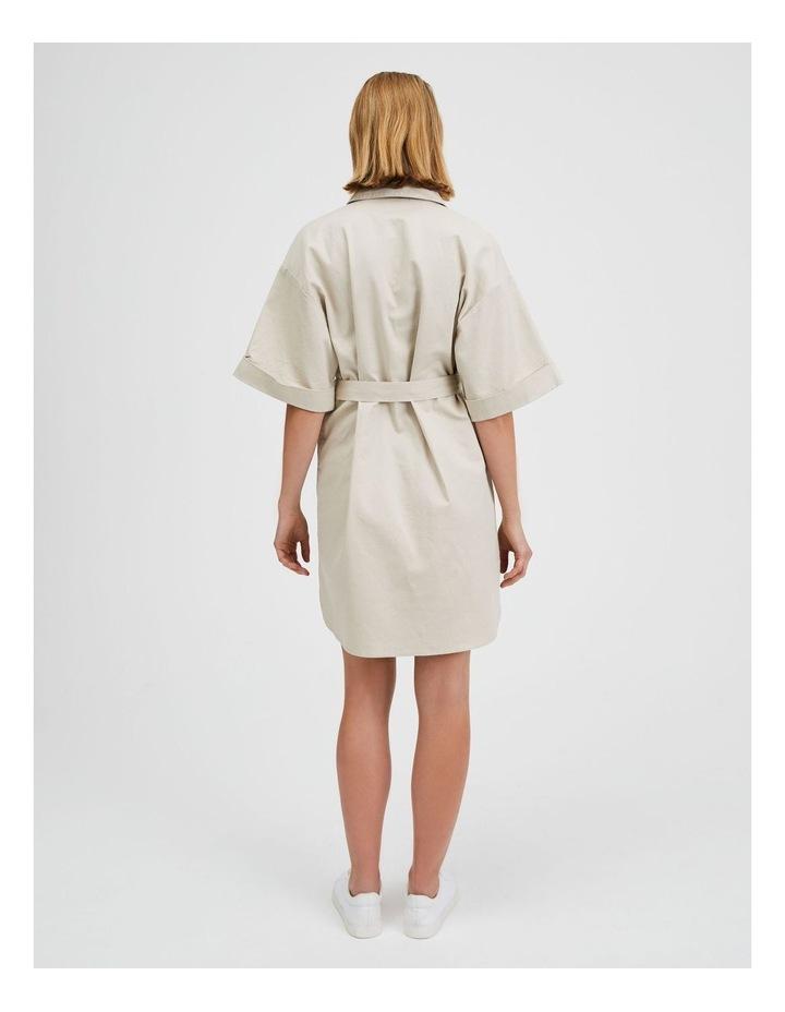 Wide Sleeve Shirt Dress image 3