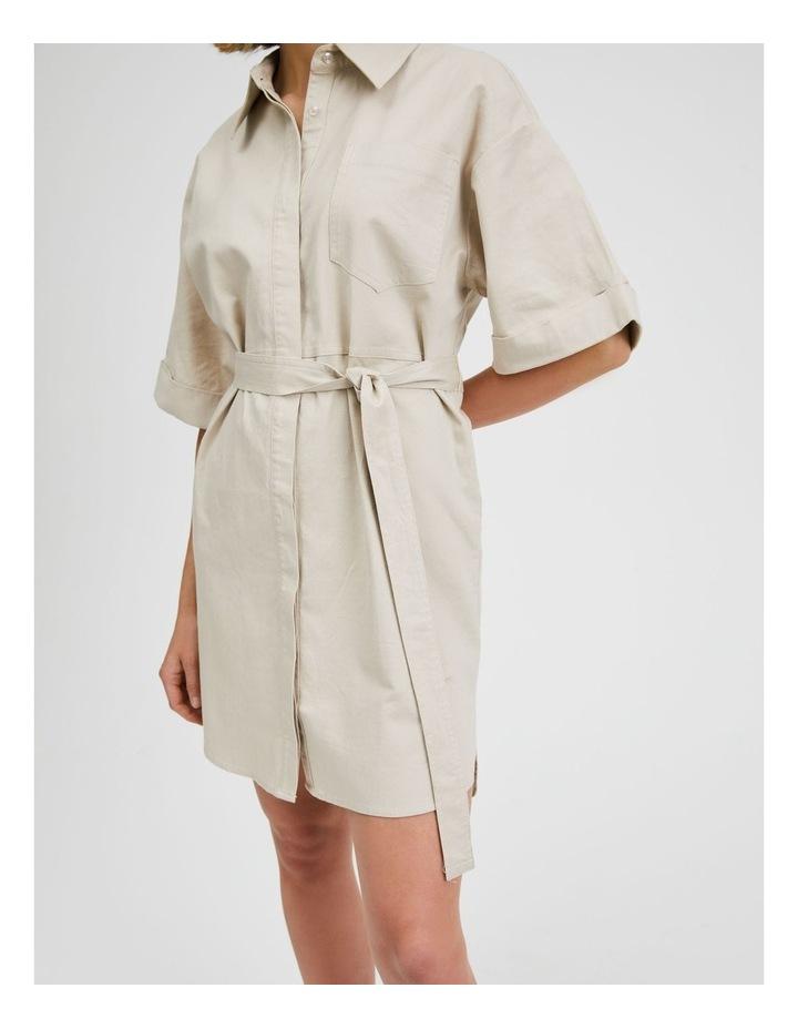 Wide Sleeve Shirt Dress image 4