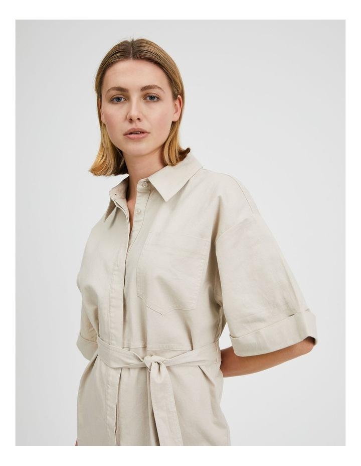 Wide Sleeve Shirt Dress image 5