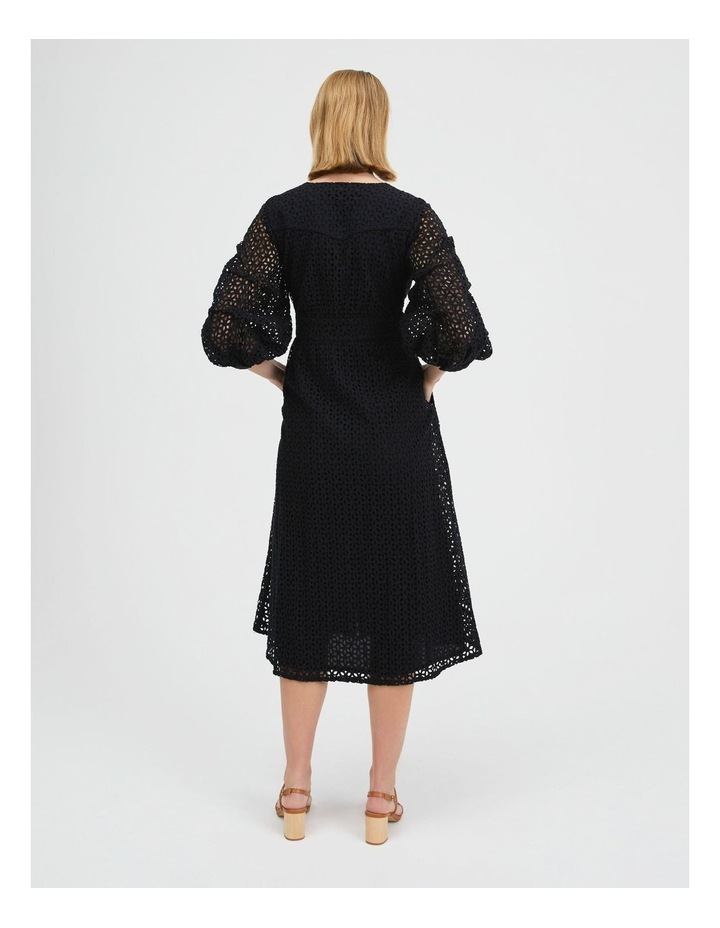 Puff Sleeve Broderie Dress image 3