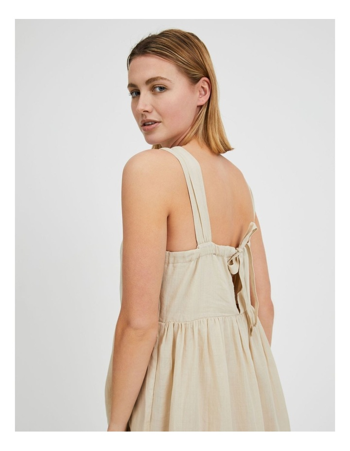 Square Neck Bow Back Dress image 4