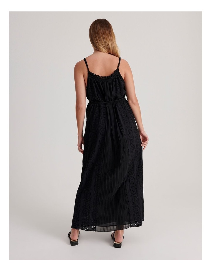 Broderie Panel Maxi Dress image 3