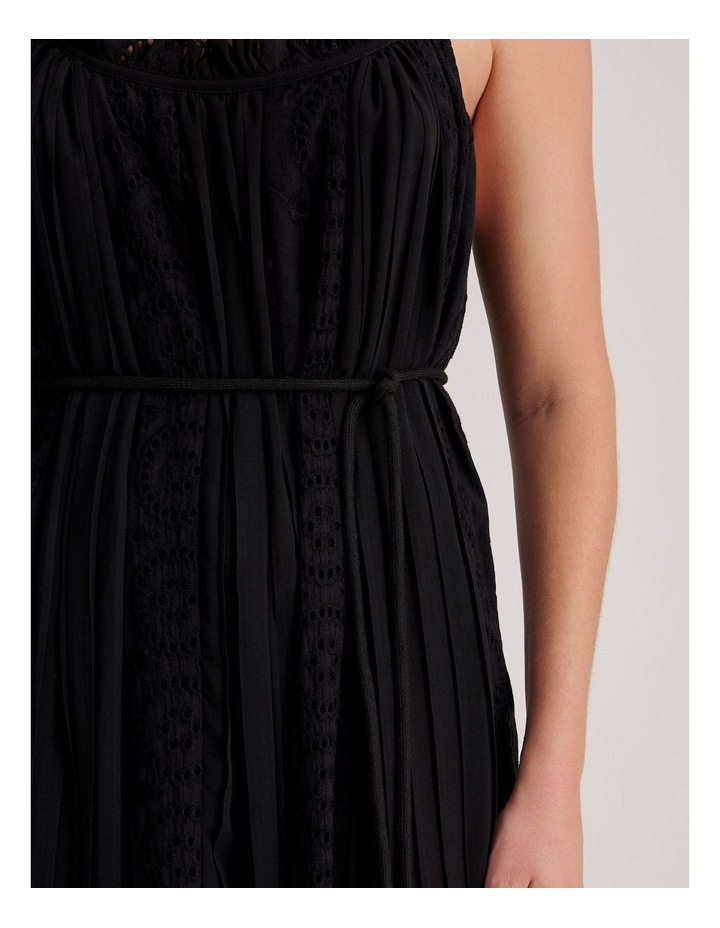Broderie Panel Maxi Dress image 5