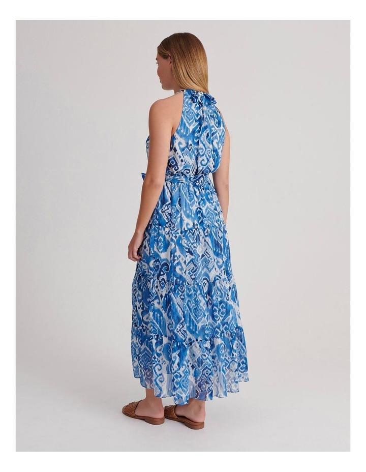 Tiered Halterneck Dress image 3