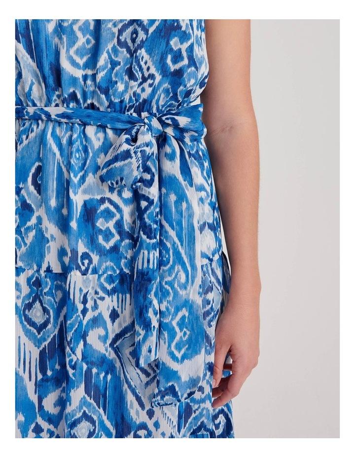 Tiered Halterneck Dress image 4
