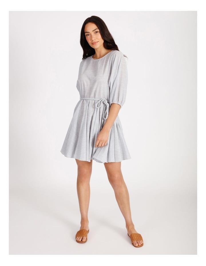 Gusset Stripe Mini Dress image 1