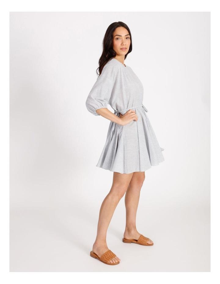 Gusset Stripe Mini Dress image 2