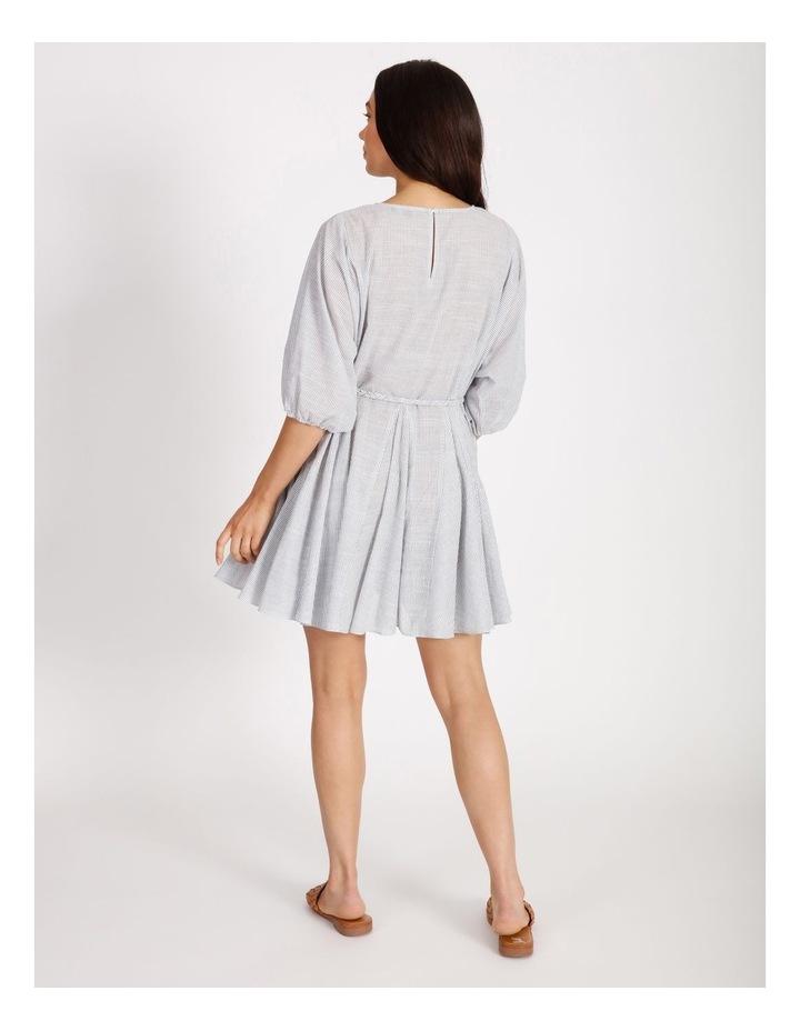 Gusset Stripe Mini Dress image 3