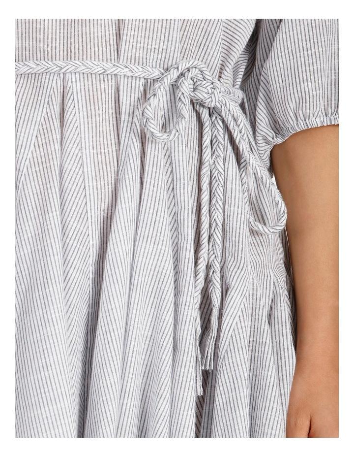 Gusset Stripe Mini Dress image 5