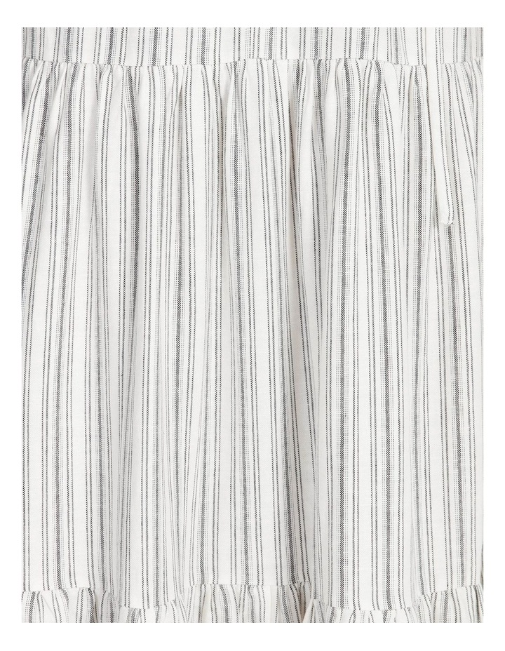 Striped Tiered Maxi Dress image 6