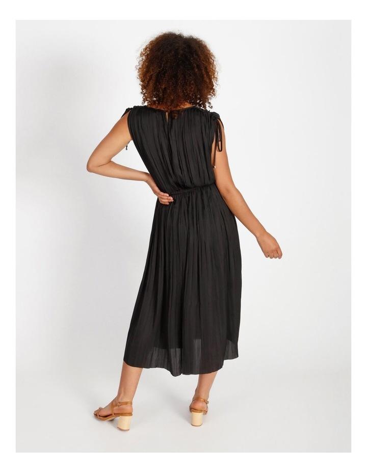 Shoulder Tie Pleat Dress image 3