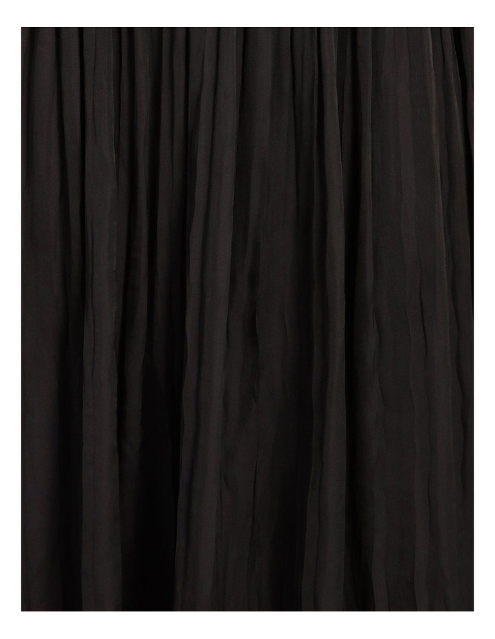 Shoulder Tie Pleat Dress image 5