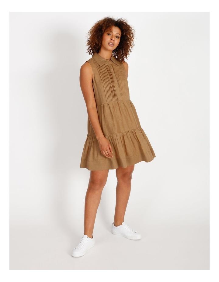 Pintuck Mini Short Dress image 1