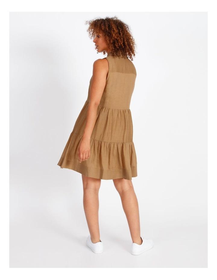 Pintuck Mini Short Dress image 3