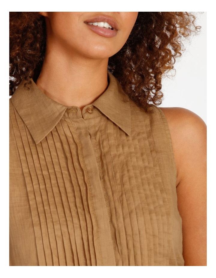 Pintuck Mini Short Dress image 4