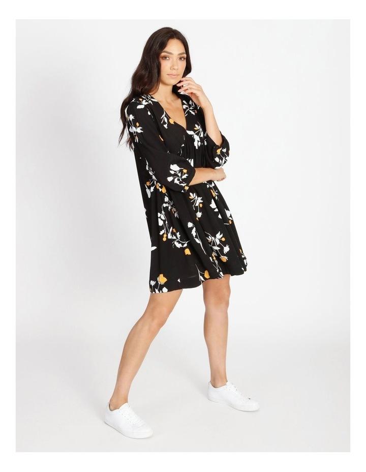 3/4 Sleeve Babydoll Dress image 2