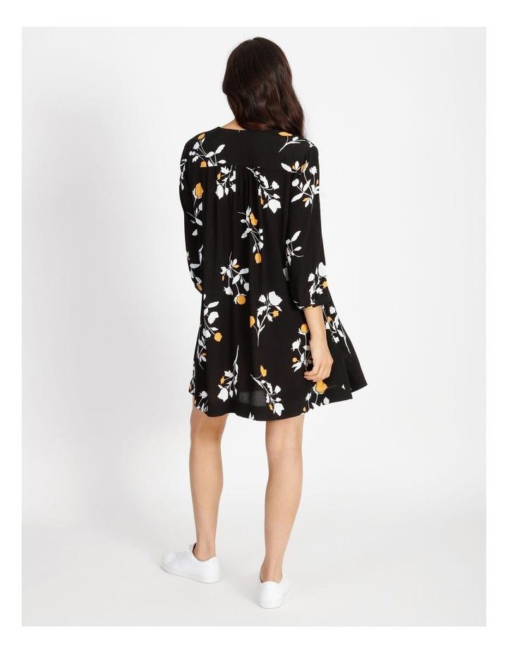 3/4 Sleeve Babydoll Dress image 3