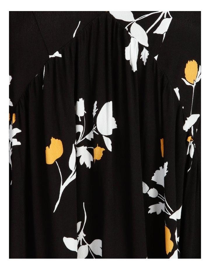 3/4 Sleeve Babydoll Dress image 5