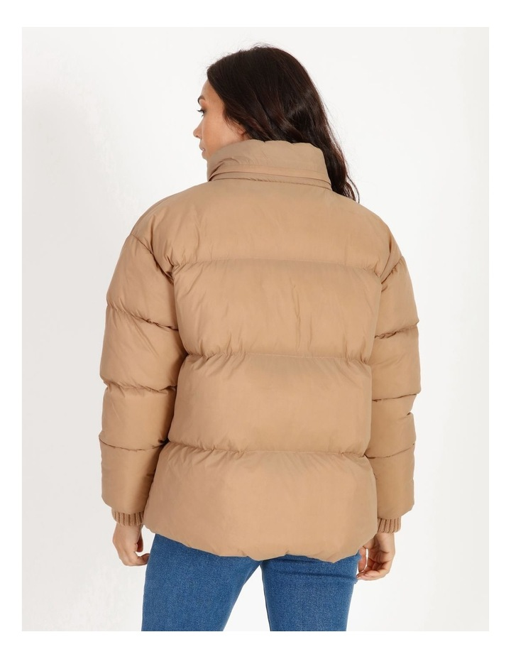 Recycled Short Puffer Jacket image 3