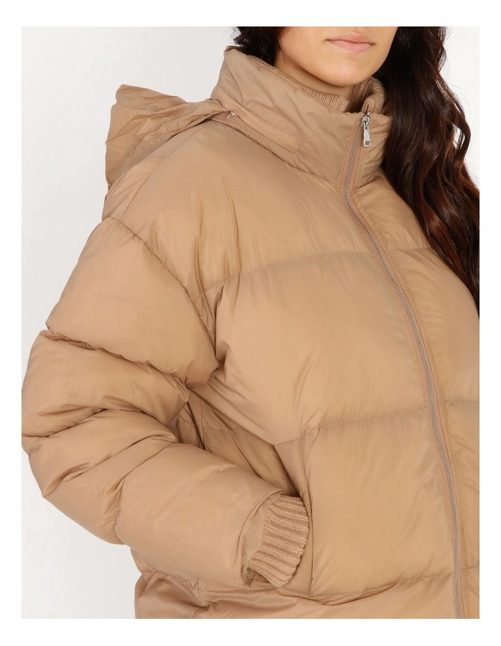 Recycled Short Puffer Jacket image 4