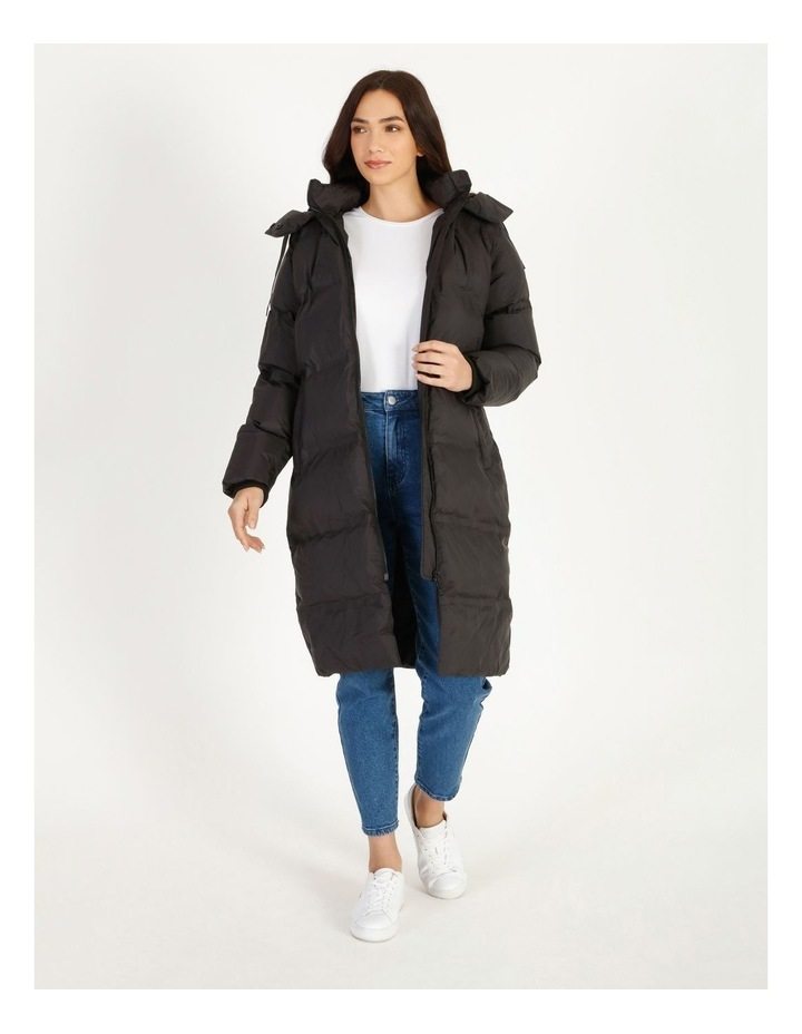 Recycled Long Puffer Jacket image 1