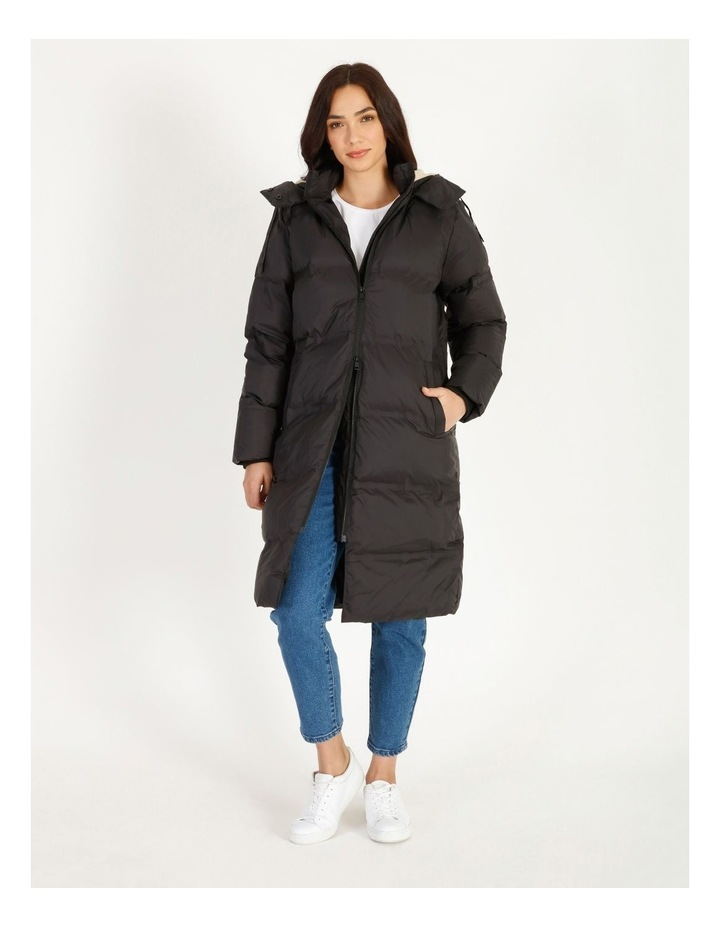 Recycled Long Puffer Jacket image 3