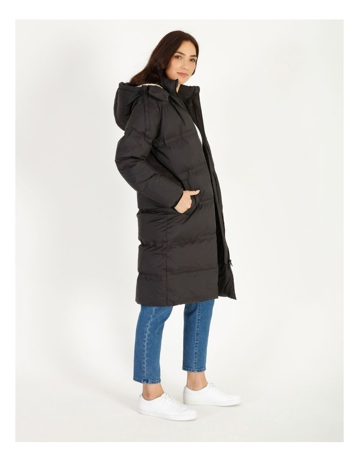 Recycled Long Puffer Jacket image 4