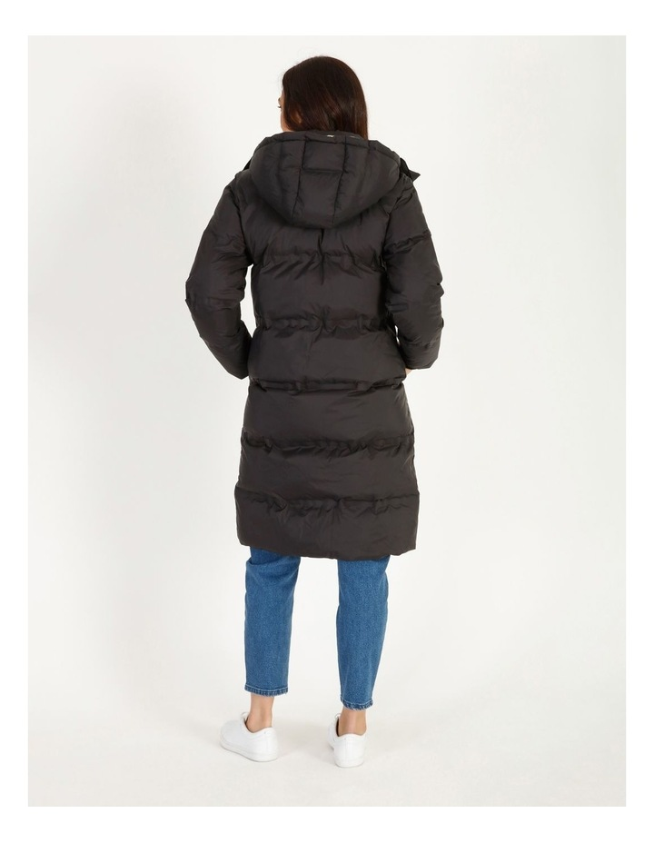 Recycled Long Puffer Jacket image 5